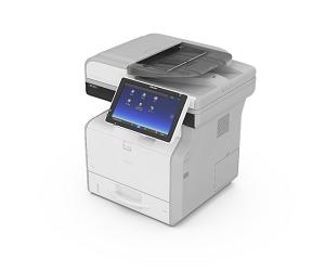 Impresora Multifuncional blanco y negro ricoh