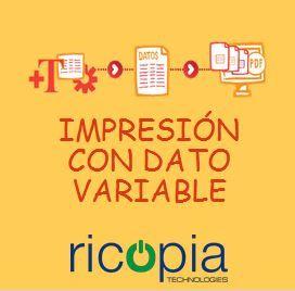 ¿Cómo te ayuda la herramienta de impresión de dato variable?