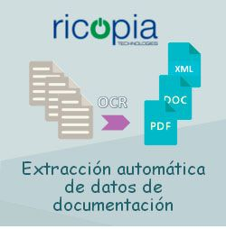 Extracción automática de datos de documentación