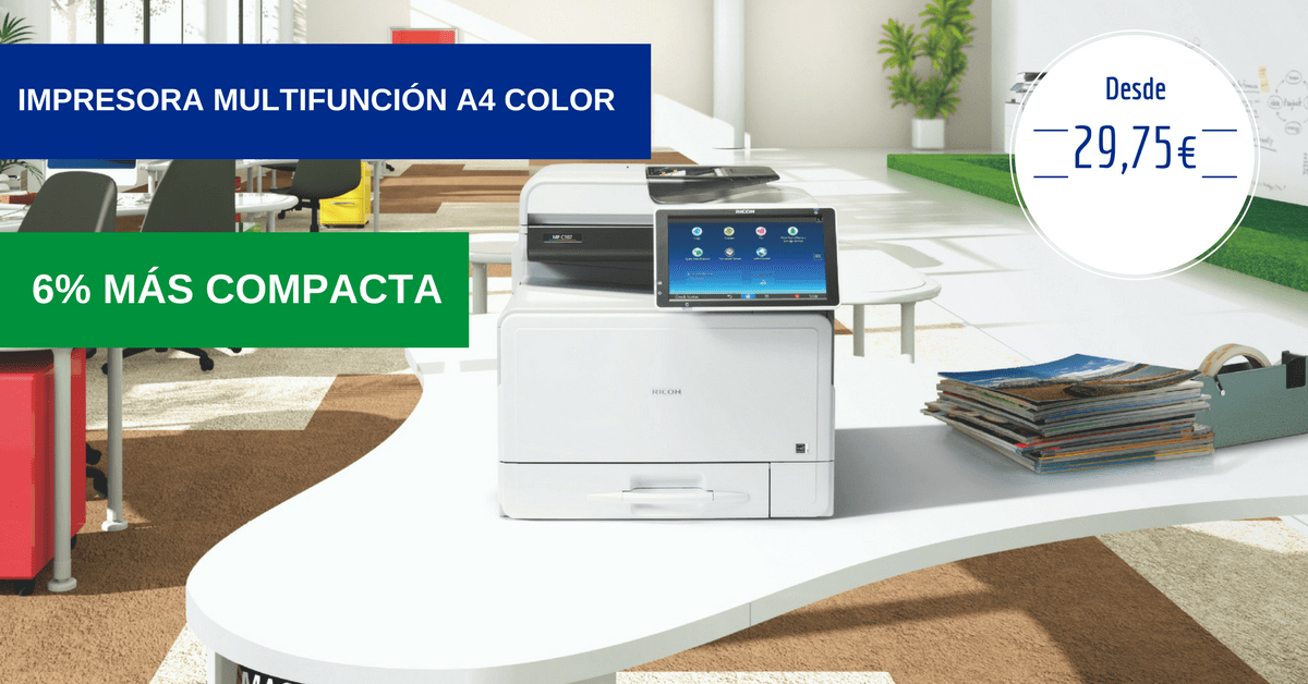 Impresora multifunción A4 color