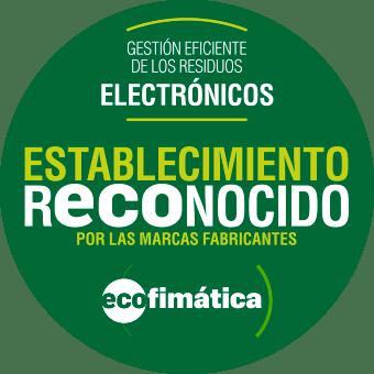 Juntos cerramos el circulo, sello Ecofimática para Ricopia