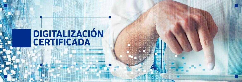 Digitalización Certificada Facturas