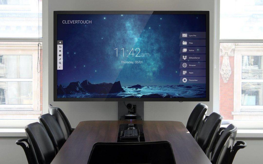 ¿Cómo ganar dinamismo y eficiencia en tus reuniones? Nueva gama audiovisual para oficinas