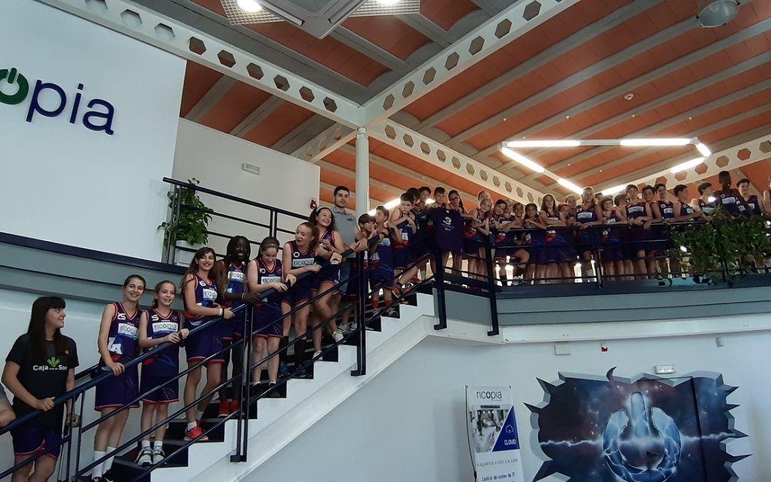 Celebramos junto a los chic@s del Ricopia Funbal Alcalá CBJA un final de temporada brillante